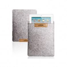 Husa tableta Utok microfibra 9-10 inch 10110G Grey