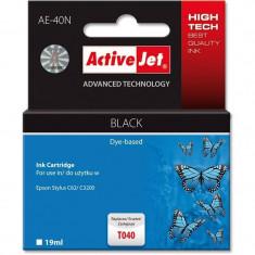 Consumabil ActiveJet Cartus T040 compatibil Epson Stylus C62 CX3200 - Cartus imprimanta
