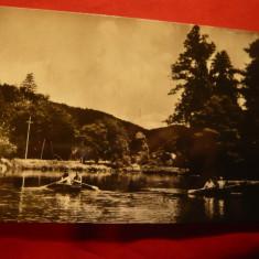 Ilustrata Baile Moneasa - Lacul, circulat 1971 - Carte Postala Transilvania dupa 1918, Circulata, Fotografie