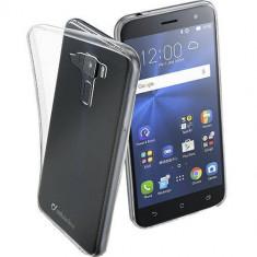 Husa Protectie Spate Cellularline FINECASUSZEN352T Transparent pentru ASUS Zenfone 3 ZE520KL 5.2 - Husa Telefon