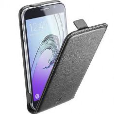 Husa Flip Cover Cellularline FLAPESSGALA516K Flip Essential Black pentru Samsung Galaxy A5 2016 - Husa Telefon