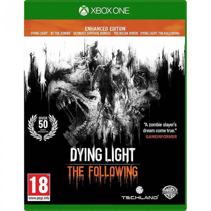 Joc consola Warner Bros Entertainment Dying Light The Following Enhanced Edition Xbox ONE foto mare