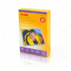 Hartie foto Kodak 100 coli Premium 10x15mm 230g - Hartie foto imprimanta