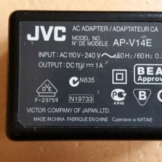 Alimentator Incarcator Camera Video JVC AP-V14E 11V 1A + Cablu Alimentare - Incarcator Aparat Foto