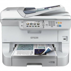 Multifunctionala Epson Workforce WF-8590DWF A3+ Inkjet Color LAN USB Wireless Alb