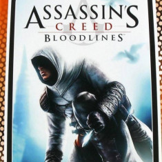 Joc consola Ubisoft ASSASSINS CREED BLOODLINES ESSENTIALS PSP - Jocuri PSP