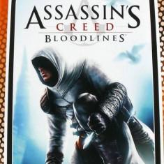 Joc consola Ubisoft ASSASSINS CREED BLOODLINES ESSENTIALS PSP - Jocuri PSP