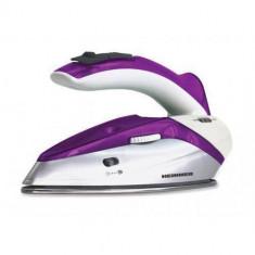 Fier de calcat de voiaj Heinner HTI-1000PP Patty 1000W 40ml violet, Inox