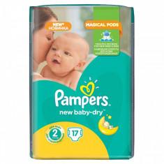 Scutece PAMPERS New Baby 2 Small Pack 17 buc - Scutece unica folosinta copii