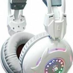 Casti A4Tech cu microfon Bloody G300 alb