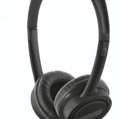 Casti Trust Mauro USB Black, Casti Over Ear