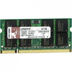 Memorie laptop Kingston 2GB DDR2 800MHz CL6 - Memorie RAM laptop