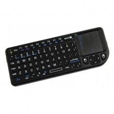 Tastatura SMART Rii tek mini X1 wireless cu touchpad - Tastatura PC