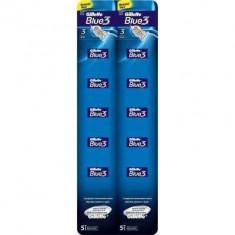 Aparat de ras Gillette Blue3 card 10 buc