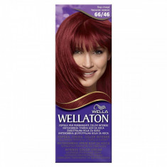 Vopsea de par WELLATON 66/46 Rosu cireasa, Roscat, Permanenta