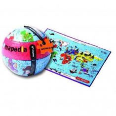 Puzzle MomKi Mapedia Lumea