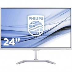 Monitor LED Philips E-line 246E7QDSW/00 23.6 inch 5ms White, 23 inch