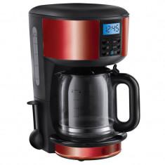Cafetiera Russel Hobbs Legacy Red 1000W 1.25 l negru / rosu