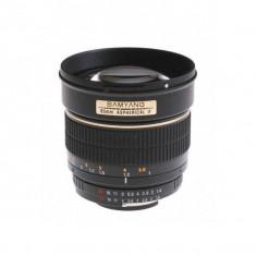 Obiectiv Samyang 85mm f/1.4 pentru Canon - Obiectiv DSLR
