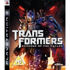 Joc consola Activision Transformers Revenge of the Fallen PS3 - Jocuri PS3 Activision, Actiune, 12+