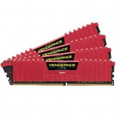 Memorie Corsair Vengeance LPX Red 32GB DDR4 3000 MHz CL15 Quad Channel Kit - Memorie RAM Corsair, Peste 16 GB