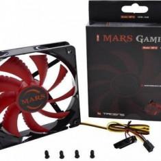 Ventilator Tacens Mars Gaming MF-12 120mm LED Red - Cooler PC