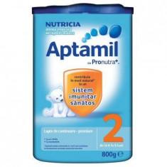 Lapte praf APTAMIL 2 800 g 6-9 luni - Lapte praf bebelusi
