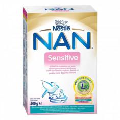 Lapte praf sugari NESTLE Nan Sensitive 500g de la nastere - Lapte praf bebelusi