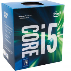 Procesor Intel Core i5-7400 Quad Core 3.0 GHz Socket 1151 Box - Procesor PC