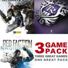 Joc PC THQ 3 Game Pack: Saints Row 3 - Space Marine - Red Faction Armageddon - Jocuri PC Thq, Role playing, 18+, Single player