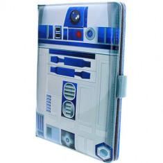 Husa tableta Star Wars UTSW-8-R2D2 Agenda R2D2 Universala Pana In 8 inch Multicolor pentru XIAOMI Redmi 3 Pro