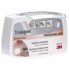 Banda adeziva TRANSPORE transparenta 12.5mm x 5m