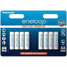Acumulator Panasonic Eneloop R6 AA 1900mAh Blister 8 buc
