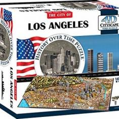 Puzzle 4D Cityscape Los Angeles 1400+ piese