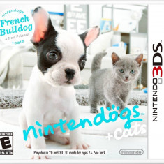 Joc consola Nintendo Nintendogs Cats French Bulldog and New Friends