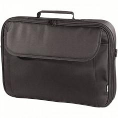 Geanta notebook Hama 101086 Montego neagra 15.6 inch - Geanta laptop Hama, Nailon, Negru