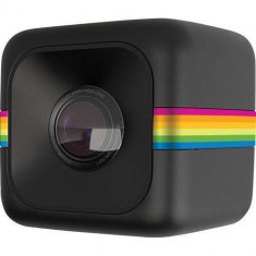 Camera Video de Actiune Polaroid Sport Cube Full HD Negru - Camera Video Actiune Polaroid, Card de memorie