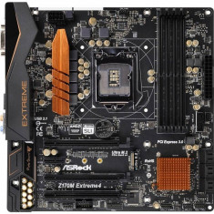 Placa de baza Asrock Z170M Extreme4 Intel LGA1151 mATX