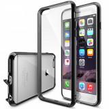 Husa Protectie Spate Ringke FUSION Black plus folie protectie pentru Apple iPhone 6 Plus/6S Plus - Husa Telefon