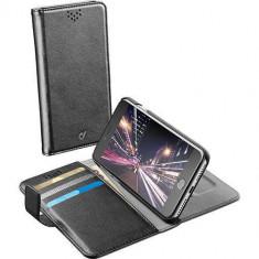 Husa Flip Cover Cellularline BOOKAGENDAIPH755K Agenda Negru pentru Apple iPhone 7 Plus - Husa Telefon