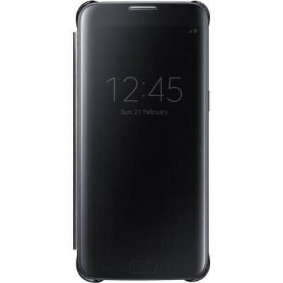 Husa Flip Cover Samsung Clear View pentru Galaxy S7 Edge foto