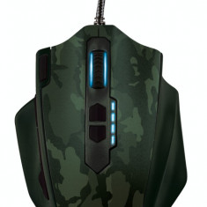 Mouse gaming Trust GXT 155C Green Camouflage, USB, Optica