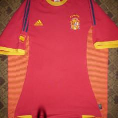 Tricou al Echipei Nationale a Spaniei, firma Adidas, masura L - Tricou echipa fotbal, Marime: L, Culoare: Rosu