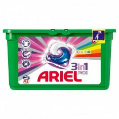 Capsule de detergent gel Ariel Pods Color 42*28ml - Detergent rufe