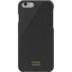 Husa Protectie Spate Native Union CLIC-BLK-LE-H-6S Click Piele Negru pentru APPLE iPhone 6, iPhone 6S - Husa Telefon