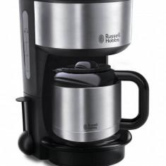 Cafetiera Russel Hobbs Oxford Thermal 1000W 1 l inox / negru