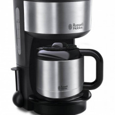 Cafetiera Russel Hobbs Oxford Thermal 1000W 1 l inox / negru