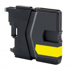 Cartus ActiveJet compatibil pentru Brother LC 985Y Yellow - Cartus imprimanta