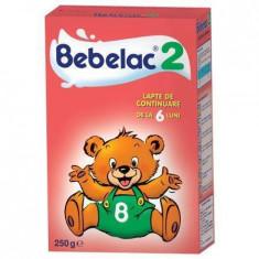 Lapte praf BEBELAC 2 250g de la 6 luni - Lapte praf bebelusi