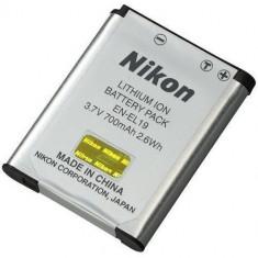 Nikon Acumulator Reincarcabil EN-EL19 S100 S3100 S2500 - Baterie Aparat foto